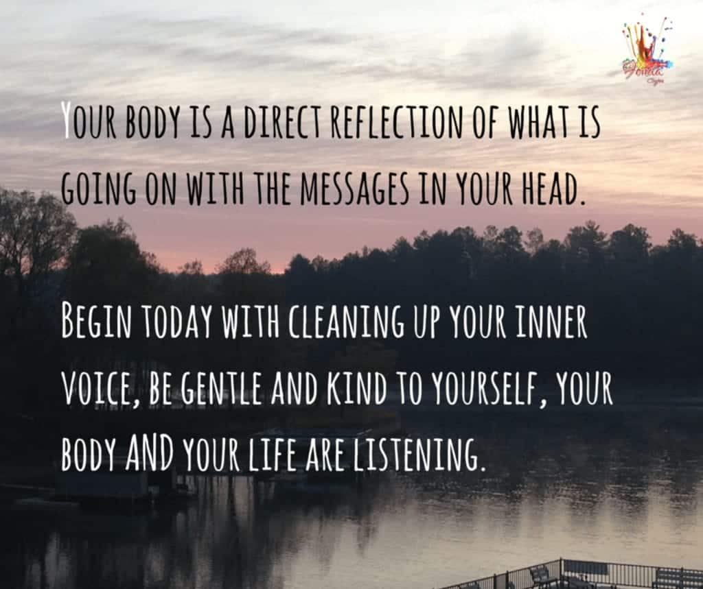 Your body is a direct reflection of what